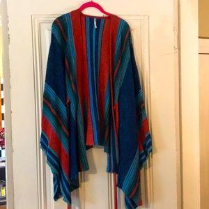 Free People Tunic Striped Wrap